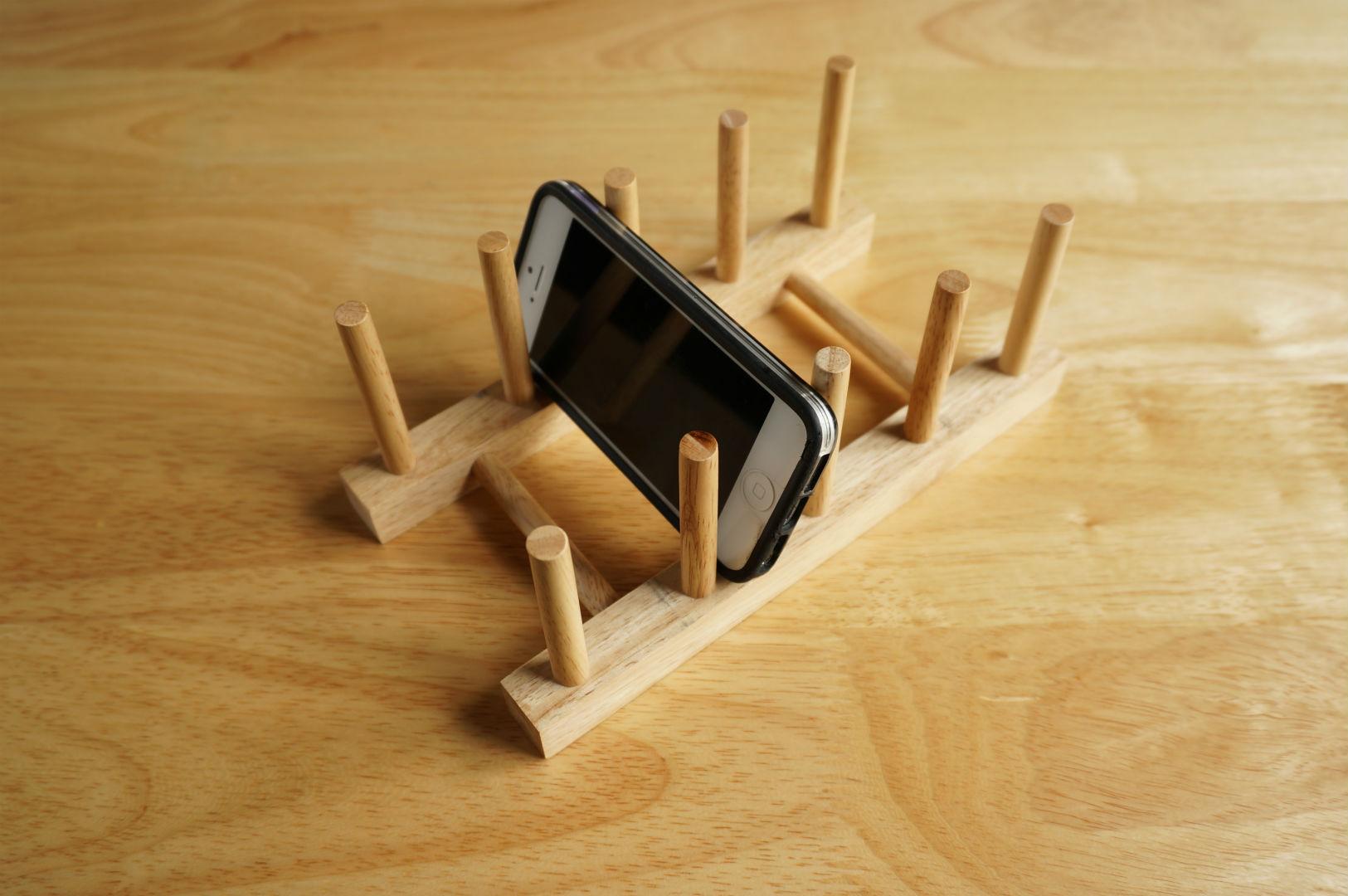 スマホ iPhone スタンド 皿立て2
