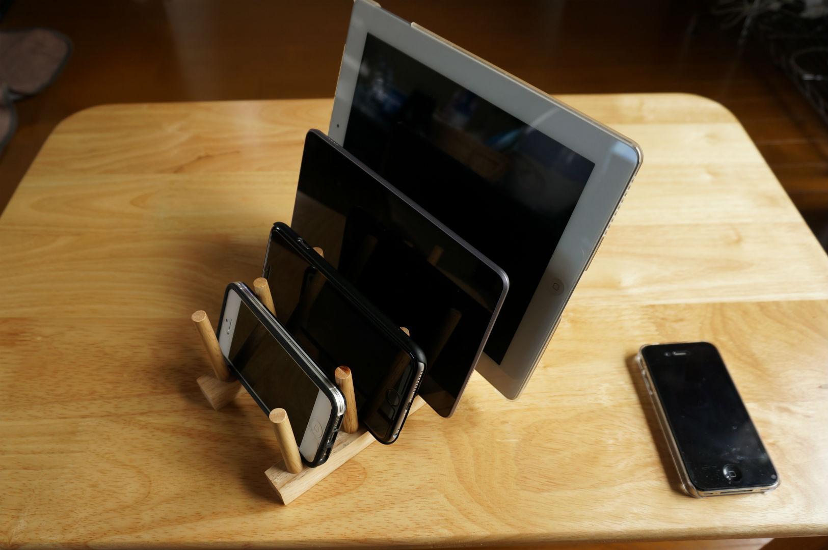 スマホ iPhone スタンド 皿立て3
