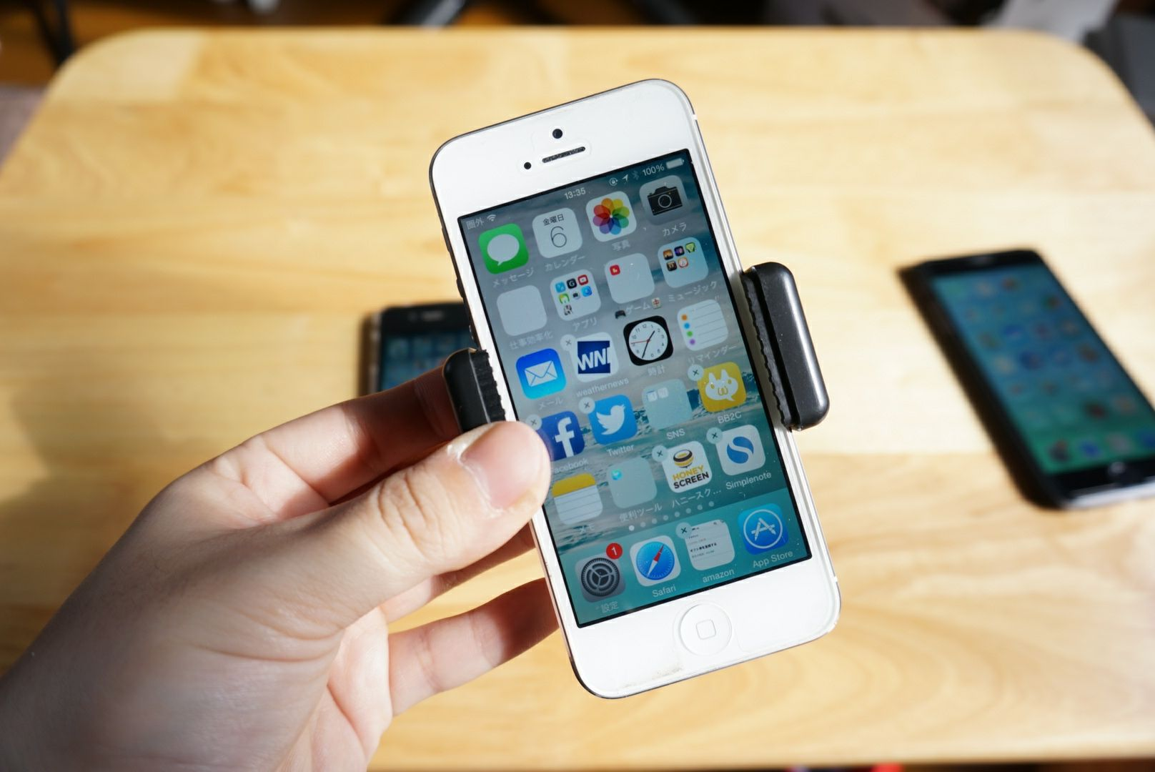 2WAY Mount iPhone5 2