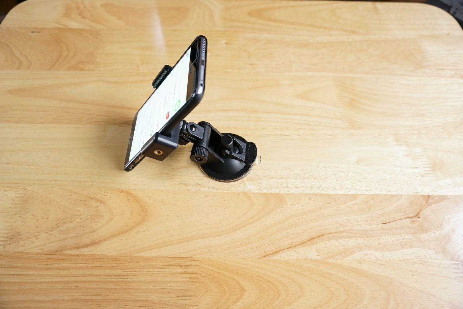 Eco Ride World 車載カメラホルダー スタンド吸盤式マウント CS_009 2WAY Mount iPhone6 Plus