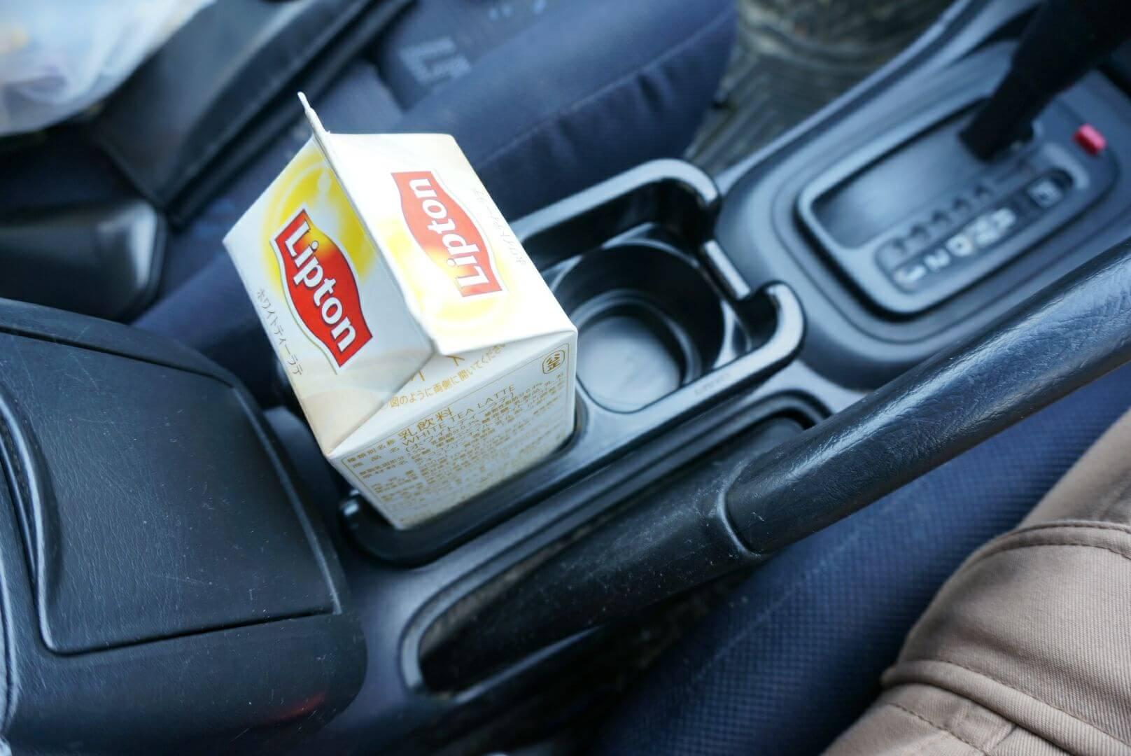 車 ホルダー 紙パック