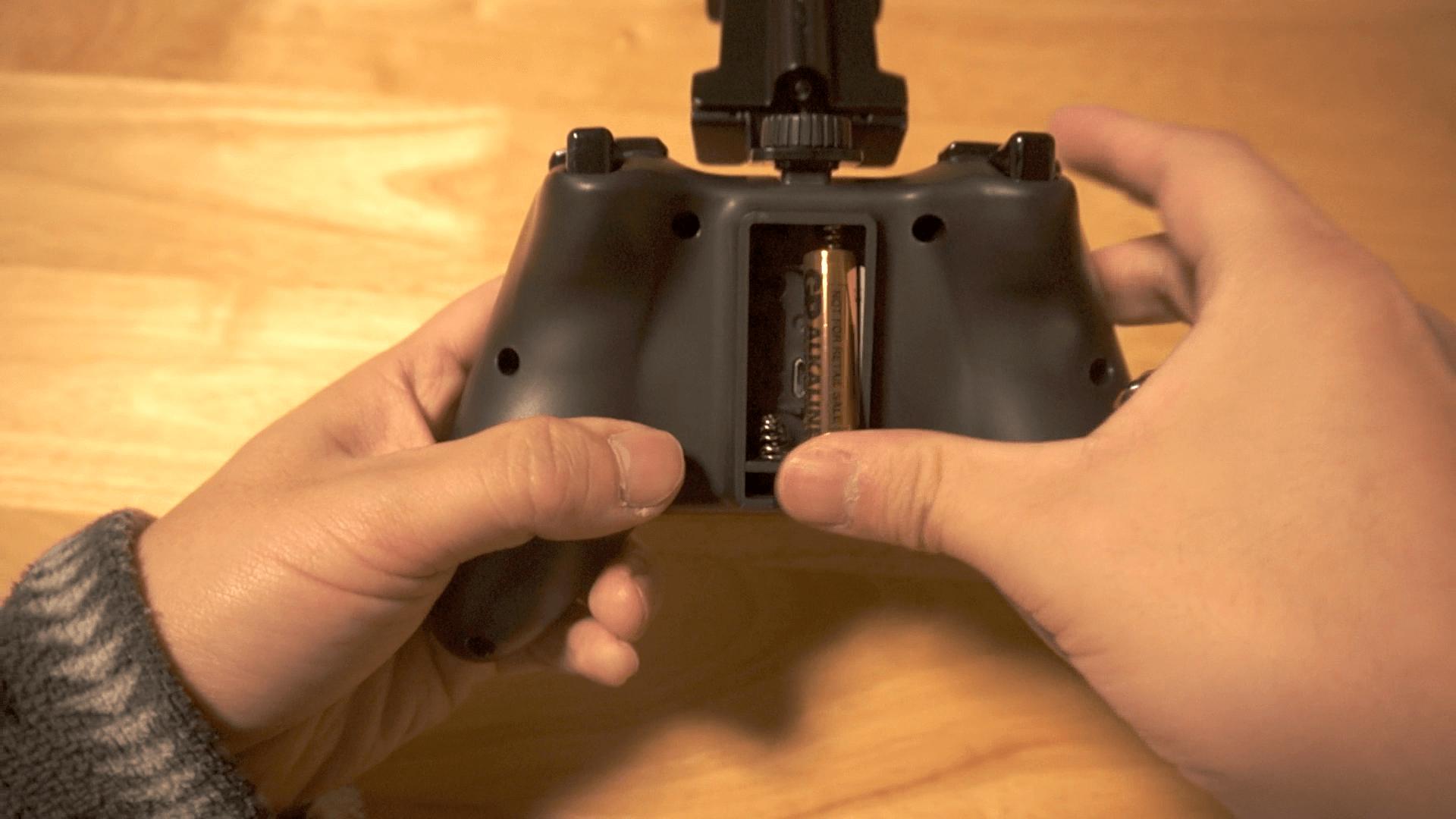 CTRLi モバイル ゲームパッド ブラック 単四電池