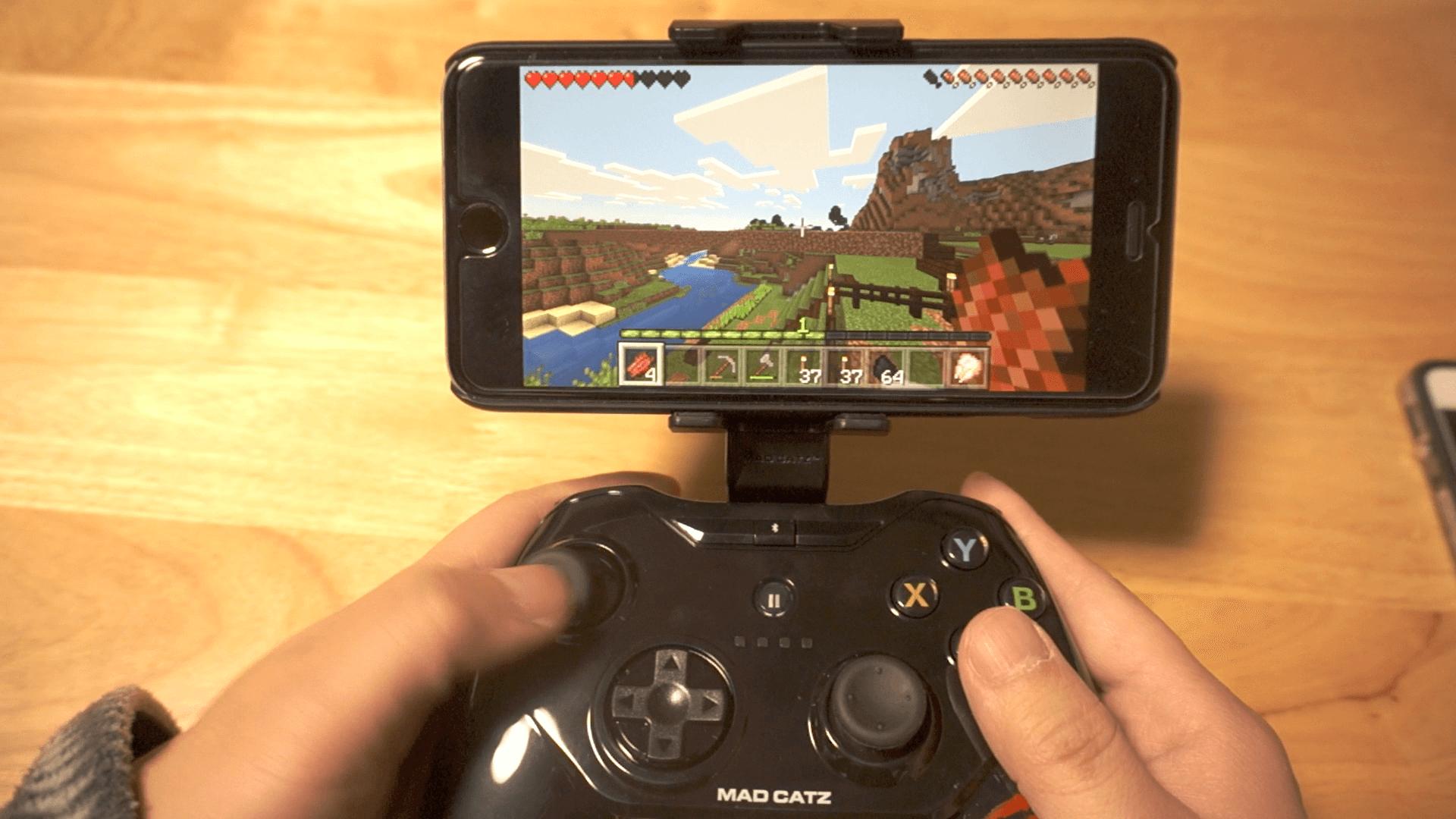 CTRLi モバイル ゲームパッド ブラック Minecraft