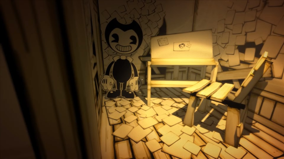 Bendy and the Ink Machine フリーホラーゲーム