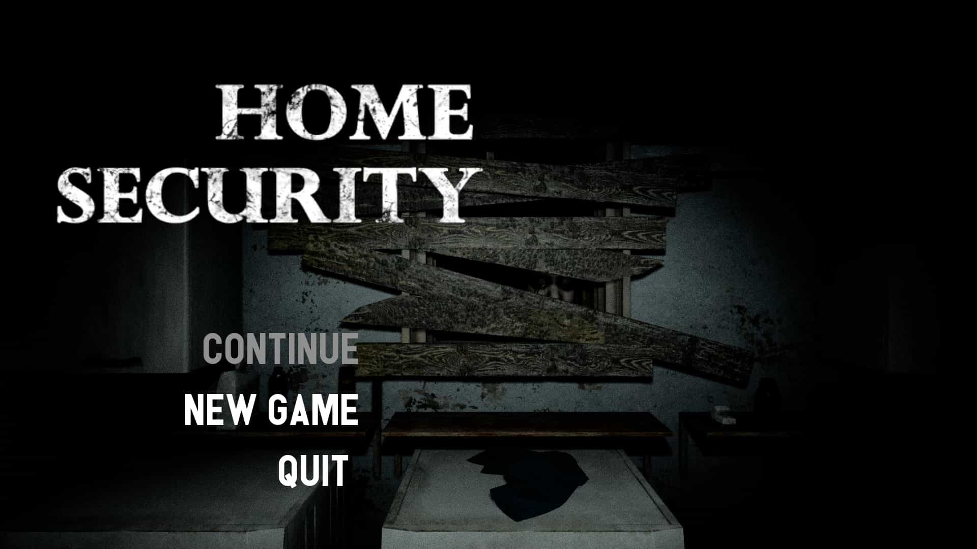 Home Security 攻略 ゲーム ホラー